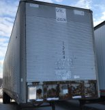 45 Foot Semi Trailer w TITLE. Trailer 1294 Made by Fruehauf with a GVWR of 68000 & a MFG of 1-19-77