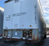 45 Foot Semi Trailer with TITLE. Trailer 1286 Made by Fruehauf w a GVWR of 68000 and a MFG of 1983