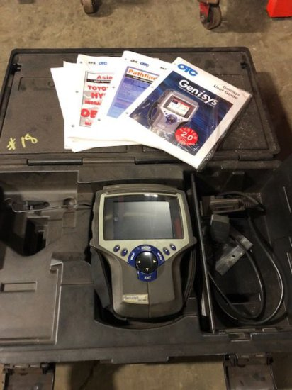 Genisys SPX OTC system 2.0 auto scanner