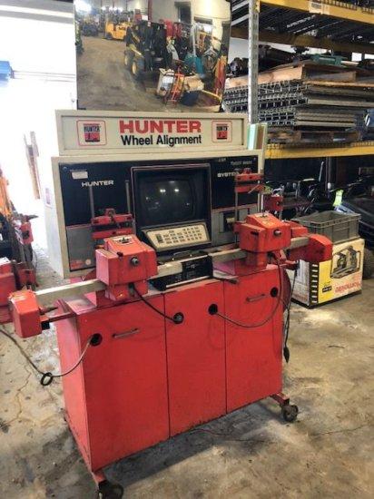 Hunter Wheel Alignment Machine. System A111, Part #190-49-1
