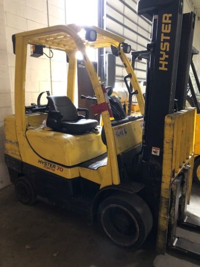 Hyster 70 LP forklift  Side sh    Auctions Online | Proxibid