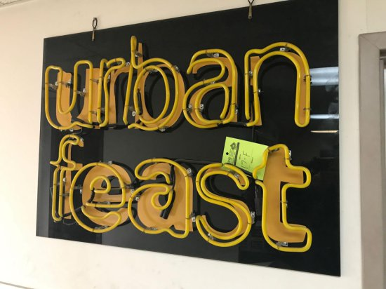 Urban Feast Neon, needs transformers, and wiring, but tubing appears to be solid