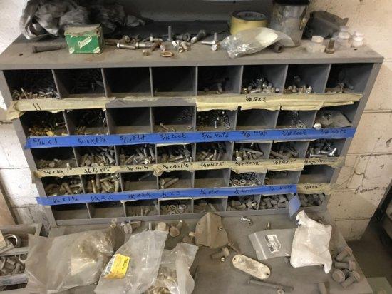 Metal Organizing Cabinet
