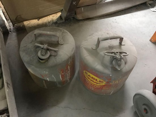 2- 4 gallon Gasoline Safety Cans