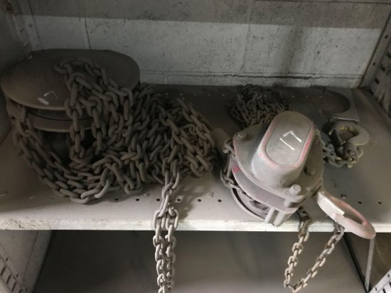 2 chain falls/hoist