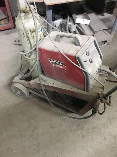 Lincoln SP 125 Plus Mig Welder, Gas bottle not included