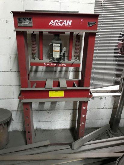 ARCAN 20 ton shop press