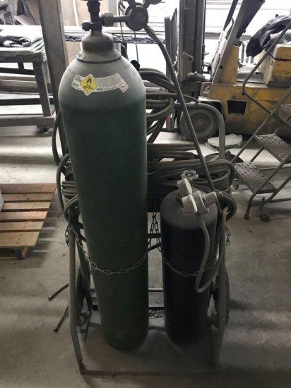 Oxygen Acetylene Torch Set, BOTTLES NOT INCLUDED