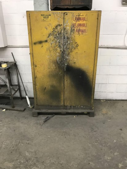 Flammable Materials Cabinet