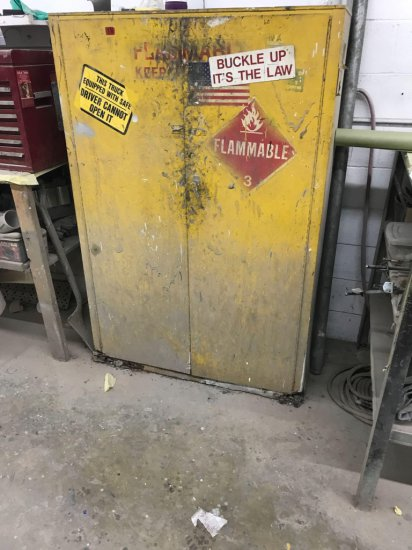 Flammable Liquids Cabinet