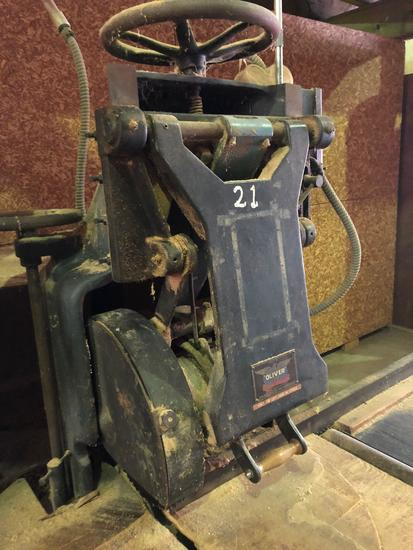 Oliver model 94DS swing saw.