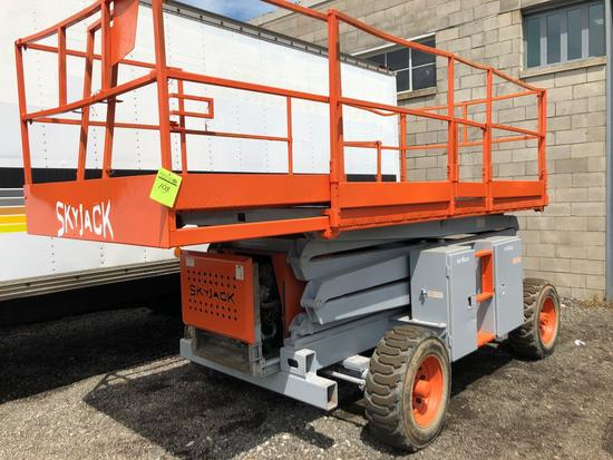 SkyJack 31 ft, All Terrain Diesel, 4x4 Platform Lift