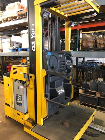 Yale Type E Stand-up order picker forklift  | Heavy