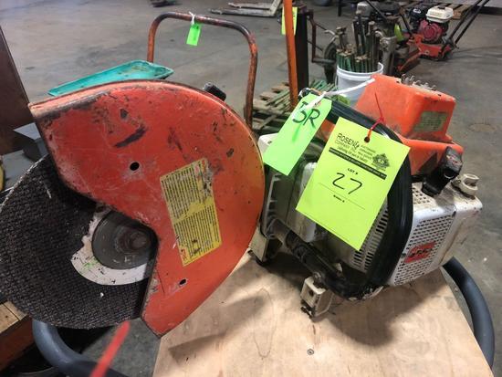Stihl TS760 AV cut off saw