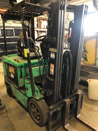 Mitsubishi FBC25K Electric Forklift