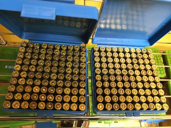 200 rounds of RELOADED 9mm ammunition with plastic cases