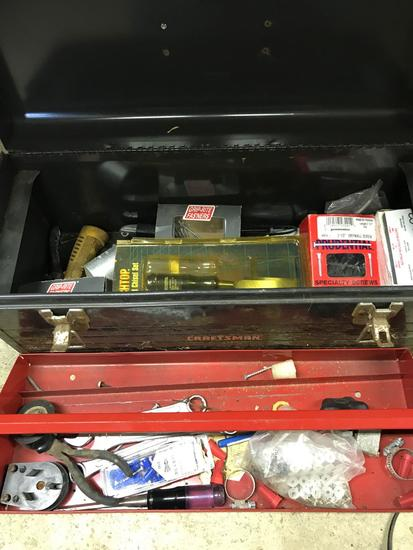 Craftsman Toolbox with misc tools