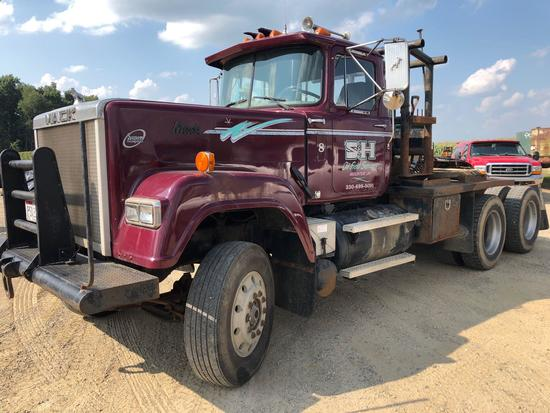 1985 Mack RW633 Super Liner Winch Truck | Commercial Trucks