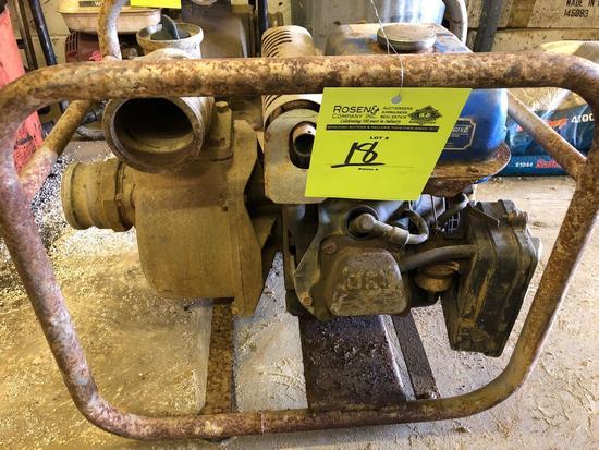 Yamaha MZ175 3 inch trash pump