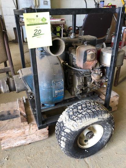 Gorman Rupp 3 inch trash pump.