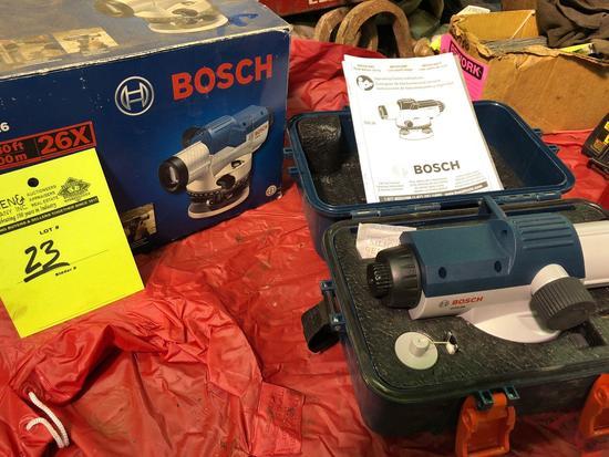 Bosch GOL26 auto optical level.