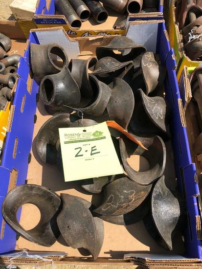 (17) 2 x 3 weld saddles.