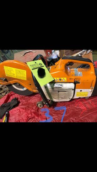 Stihl TS-400 cutoff saw.