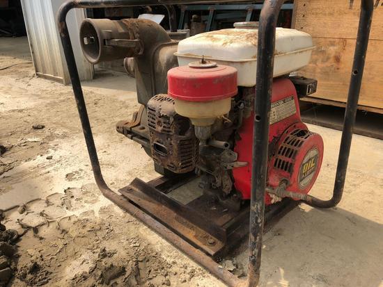 Honda G300, 7 hp 3 inch trash pump