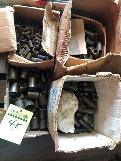 1 lot of various union fittings