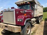 1991 Mack Super Liner Econodyne Triple Axle RW713 Dump Truck