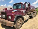 1996 Mack Model RD688S Triple Axle 85 Barrel Water/Brine Hauling Truck