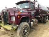 1985 Mack RD688S 85 Barrel Tandem Water/Brine Truck