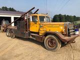 Vintage 1952 Model LTLSW Cummins Diesel Mack Winch Tractor