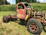Vintage Mack B Model Truck