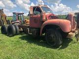 1954 Vintage Mack B42S Model 6 cyl Gas Tractor
