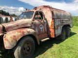 1958 Vintage Mack B-61S Model Oil & Gas Transport Truck