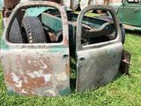 Pair of Vintage 1950?s Mack B mod doors.