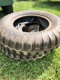 Good pair of Like New Military Tube Type Tire?s 9.00 - 20
