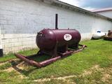 500 gallon skid mounted propane tank