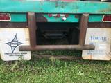1982 Miller 45 ft tandem flatbed trailer