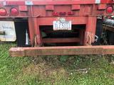 1984 Fruehauf 45 ft tandem flatbed trailer