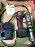 Alemite 14.4 volt cordless grease gun w/ charger and battery