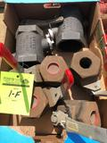 Lot of (7) new assorted valves.