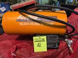 All Pro 50k-85k BTU/HR propane heater