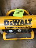 Dewalt Emglo dual tank air compressor