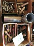 1 lot of various various hose barbs.