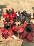 Set of (4) 8QJ-447 Mack Hubs.