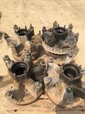 Set of (4) Mack 8QJ447 hubs w/ drums