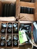 1 lot of various swage nipples & steel pipe nipples