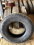 Lot of (4) BF Goodrich DR444 11R/22.5 radial Tires